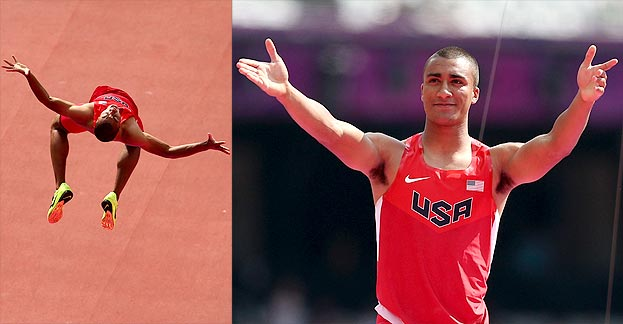 Team: USA Event: Decathlon (Gold) Adam B. Vary said: ''Congratulations, Ashton Eaton! You're in better shape than everyone at the Olympics — and therefore the…