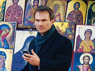 'BULLET' AND A TARGET Christian Slater plays a retired FBI agent who is forced back in the game