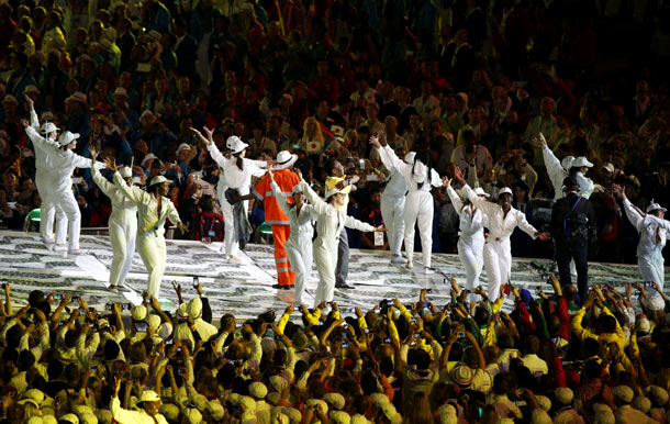 Summer Olympics 2012   How do you say ''sweet relief'' in Portuguese? If Brazil knows how to do anything, it's throw a massive party. The samba janitor and a…