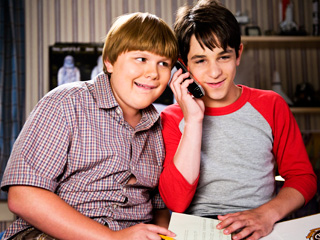 SUMMER ADVENTURES Zachary Gordon and Robert Capron try and salvage their summer in Diary of a Wimpy Kid: Dog Days