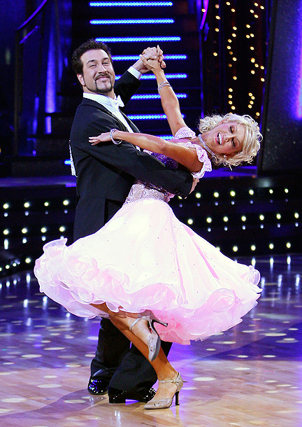 Joey Fatone, Kym Johnson, ... | Season 4's runners-up had great chemistry, and ''The Fat One'' loved to get involved with wardrobe design. Who else would wear bedazzled shoes?! Green says:…