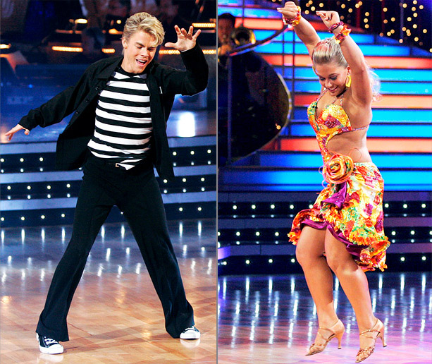 Derek Hough, Shawn Johnson, ... | The season 8 winner may have struck gold with Derek, a judges' favorite with distinct, imaginative choreography. Green says: ''Ironically, none of Derek's ex-partners are…