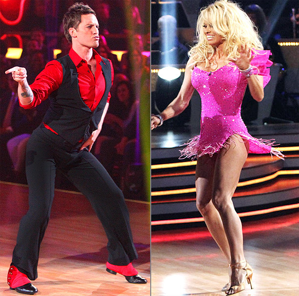 Pamela Anderson, Dancing With the Stars | Pam's the only ''all-star'' who didn't make it to the finals in her season (10). But a fun rapport with a lucky, charming leprechaun could…