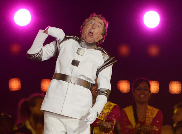 Eric Idle, Summer Olympics 2012   If for no other reason than that Monty Python trouper Eric Idle inspired HRH Prince Henry of Wales (a.k.a. Hot Harry) to whistle along to…