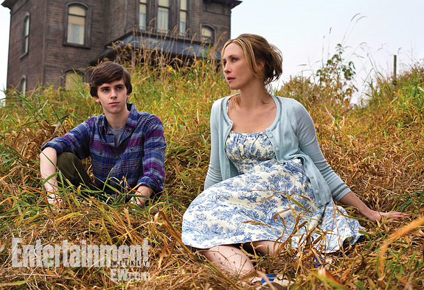 Nov. 20: Freddie Highmore and Vera Farmiga will reopen the Bates Motel in spring 2013 for A&E: First Look!