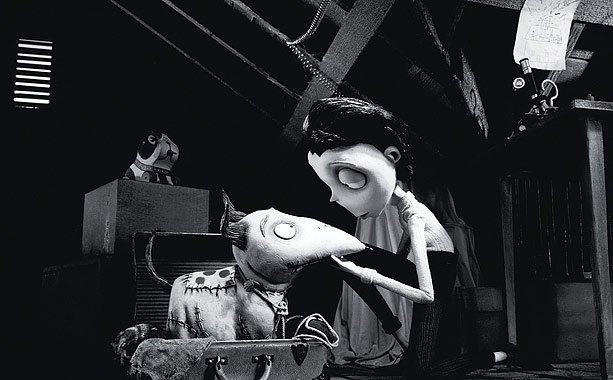 You can't keep a good dog down. In Frankenweenie , director Tim Burton's latest stop-motion cartoon (not to mention a full-length version of a live-action…