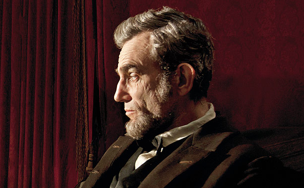 Penny for your thoughts? For Steven Spielberg, this first image of Daniel Day-Lewis in Lincoln (based on Doris Kearns Goodwin's Team of Rivals ) captures…