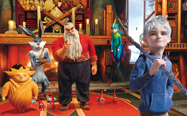 Santa Claus is now a tattooed, tough-talking chap (voiced by Alec Baldwin) who teams up with warrior versions of the Easter Bunny (Hugh Jackman) and…