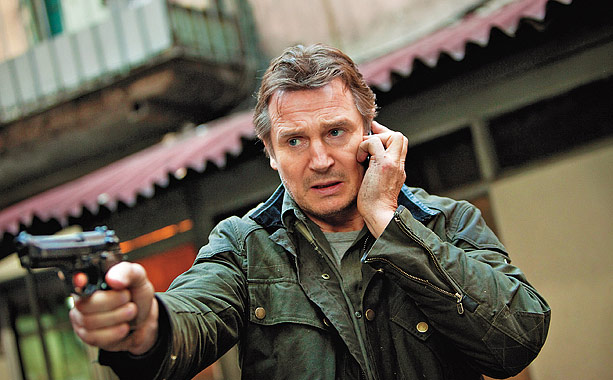 When we left off, CIA killing machine-turned-overprotective father Bryan Mills (Liam Neeson) had shot, kneecapped, and otherwise beaten the snot out of dozens of Albanian…