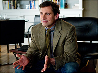 COUPLE PROBLEMS Steve Carrell plays a funny therapist in Hope Springs