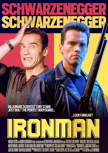 Arnold Schwarzenegger | In this charming action comedy, Arnold Schwarzenegger plays billionaire super-genius Tony Stark, who builds a robot bodyguard... played by Arnold Schwarzenegger! Hilarity, mistaken identity, and…