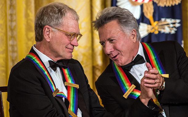 Dustin Hoffman, David Letterman