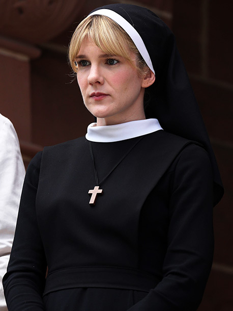 American Horror Story | After playing Nora Montgomery, mother of the infamous Infantata, last season, Rabe ramps up her relationship to Lange as second-in-command Sister Eunice. Eunice may seem…