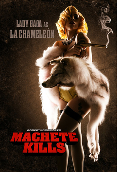 MACHETE KILLS GAGA