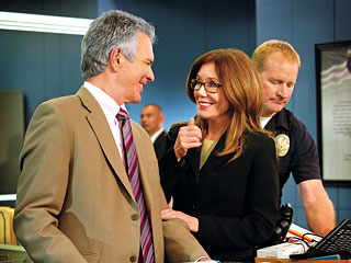 MORE CRIMES AHEAD Audiences might struggle with the transition from The Closer to Major Crimes , as Sedgwick's character is the antithesis of McDonnell's