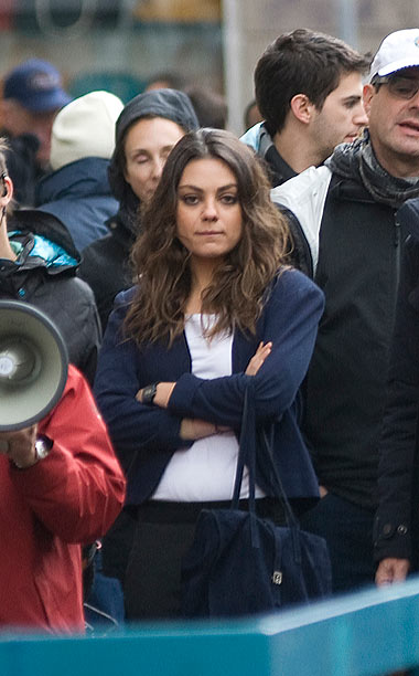 Dec. 4: Mila Kunis filming 'The Third Person' in Rome