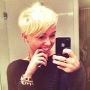 Miley Cyrus Debuts New Short Haircut Ew Com