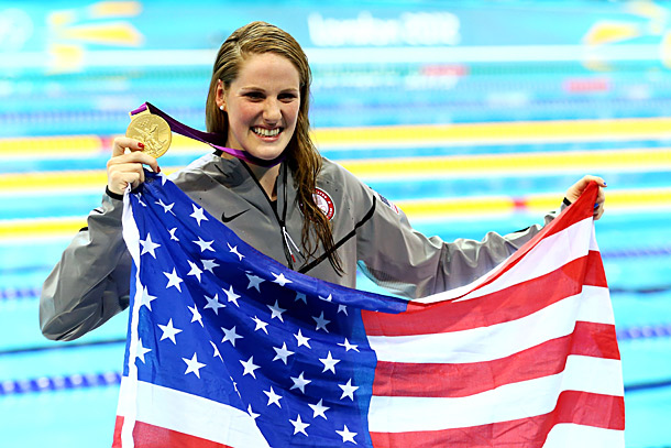 Team: USA Event: Swimming, 100m Backstroke (Gold) and 200m Freestyle (Qualifier) Adam B. Vary said: ''I'm worried you don't understand what I'm saying here: She…