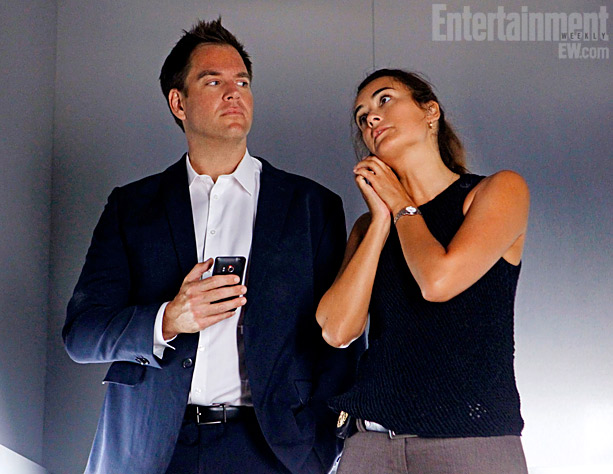 NCIS | So what exactly occurs in the elevator? Weatherly wouldn't say. But he hints, ''I don't want to be too much of a tease, but I…