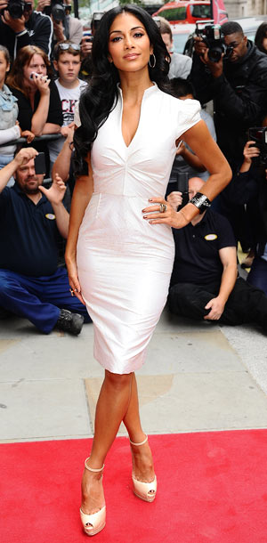 Nicole Scherzinger at the launch of The X Factor in London