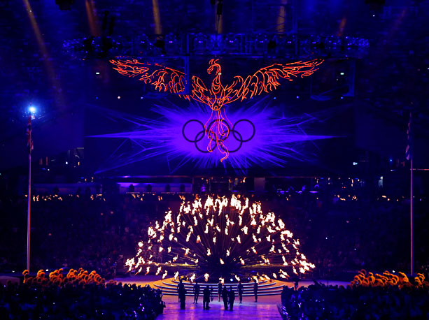 Lanford Beard said: ''Pomp and circumstance aside, the Olympic Flame lives on whether a cauldron is alight or not. It never really goes out. This…