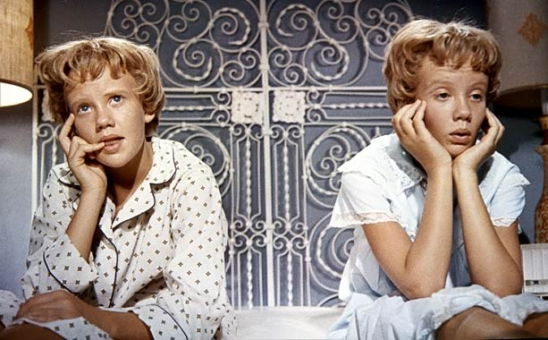 The Parent Trap | Let's get together, yeah yeah yeah! With Hayley Mills doing double duty as twins how could divorced parents Maureen O'Hara and Brian Keith stay apart?