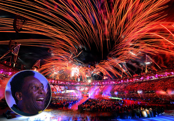 Summer Olympics 2012   Just as London's Closing Ceremony wouldn't have been complete without ''We Will Rock You,'' the hand-off to Rio wouldn't have been official without Brazil's national…