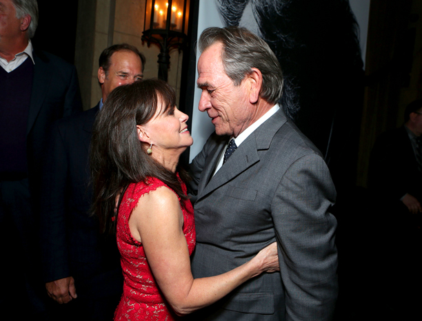 Nov. 9: Sally Field and Tommy Lee Jones at world premiere of Lincoln in Hollywood (photo taken on Nov. 8)