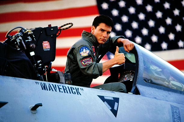 Tom Cruise, Top Gun | Still the highest grossing film of Scott's career, Top Gun also catapulted Tom Cruise to superstardom, and helped make producers Don Simpson and Jerry Bruckheimer…