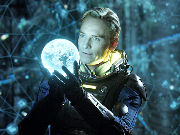 Michael Fassbender, Prometheus Fresh off a breakout 2011, Fassbender confirmed his status as Man Who Can Do Everything by turning the android David into the…