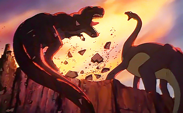 The Land Before Time | Sharptooth. How can you not be afraid of a giant mom-killing dinosaur with a name like Sharptooth? — Abby West Editor's note: The typo in…