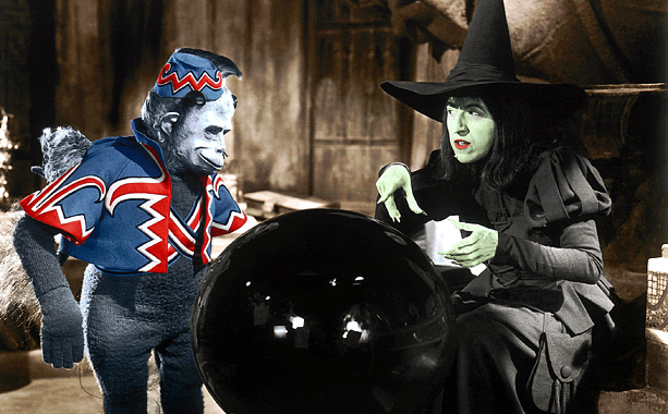 The Wizard of Oz | ''I'll get you my pretty! And your little dog too!'' Some of the scariest words in movie history. And clothed monkeys flying and chasing you?…