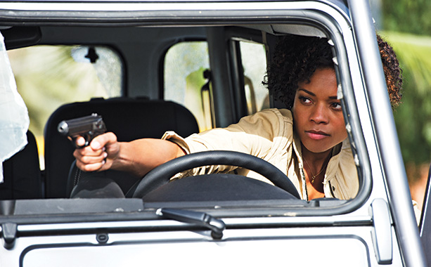 Skyfall | Naomie Harris ( 28 Days Later ) plays an ambitious field agent. Says Mendes, ''She's exactly the right mixture of sexy and dynamic — there's…