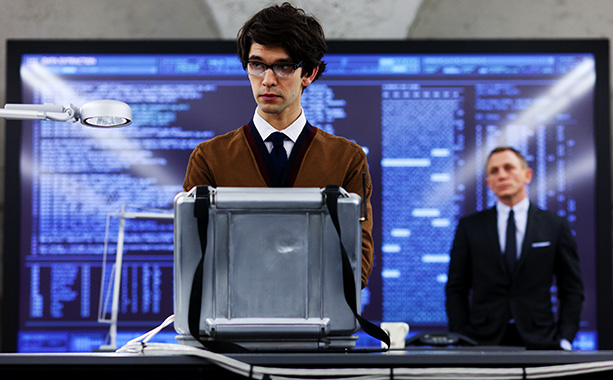 Skyfall | In confirmed castings, Ben Whishaw joins the ranks as agency tech guru Q (as EW exclusively showed last month).