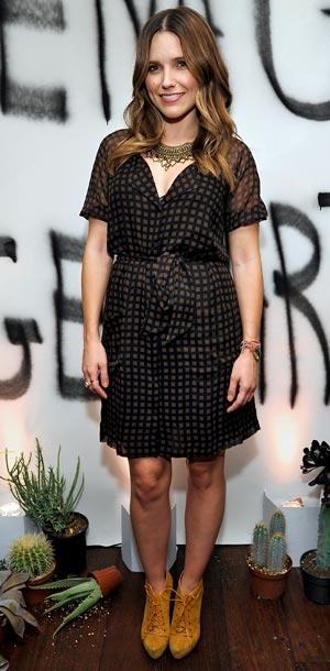 Sophia Bush at the GenArt honors alumni Vena Cava party in Los Angeles