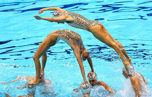 Spain Synchronized Swimming 2