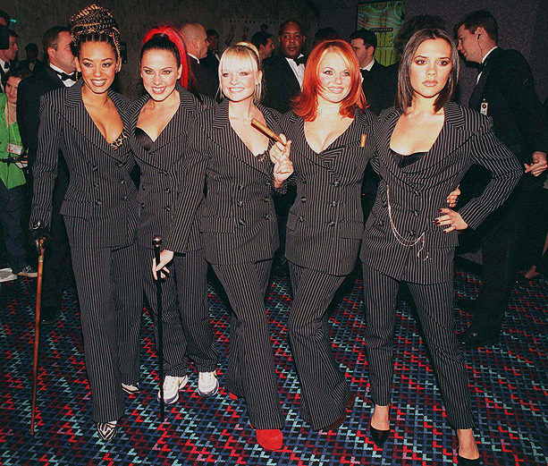 Emma Bunton, Spice Girls, ... | While critics wrote that their popularity was waning — and one member was plotting her exit from the group — the Girls presented a united…