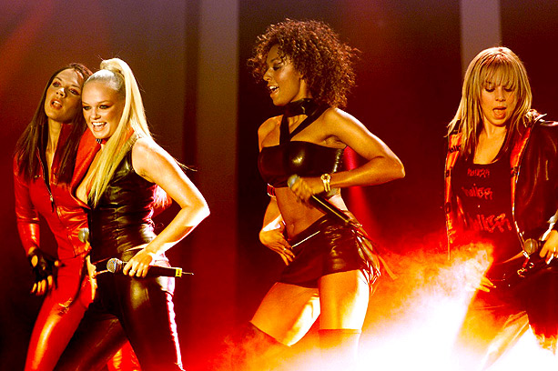 Emma Bunton, Spice Girls, ... | The quartet wore coordinated leather looks to the 2000 MTV Europe Music Awards for what would turn out to be the last performance. The following…