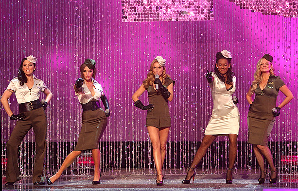 Emma Bunton, Spice Girls, ... | The Spice Girls 2.0 — dubbed ''Old Spice'' by the British press — made their return to the stage at the 2007 Victoria's Secret fashion…
