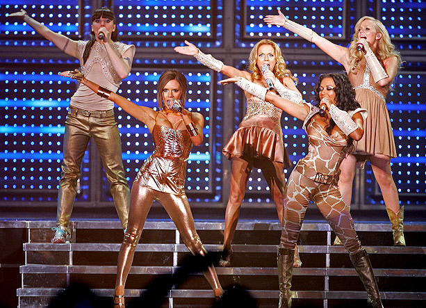 Emma Bunton, Spice Girls, ... | Italian designer Roberto Cavalli created the stage costumes for the Spice Girls reunion tour, which kicked off on Dec. 2, 2007, in Vancouver. ''I have…