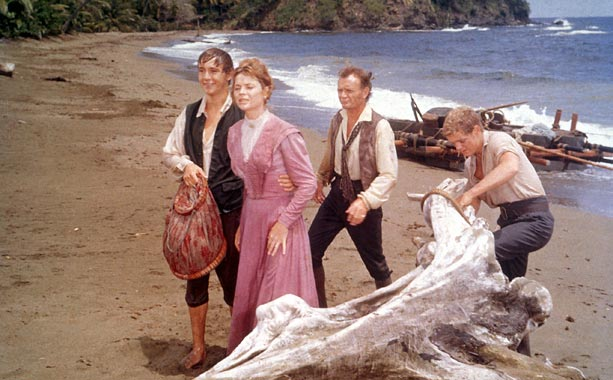 Not just a great Disney adventure film, a great adventure film period. John Mills, professional ''movie mom'' Dorothy McGuire, and their three sons are shipwrecked…