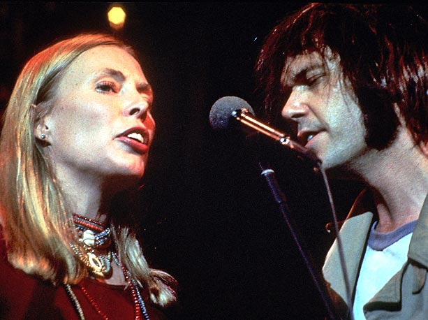 Joni Mitchell, Neil Young (Musician), ... | The Band's legendary farewell show from Thanksgiving 1976 is so full of massive guest stars (Bob Dylan, Neil Young, Eric Clapton, and Joni Mitchell) that…