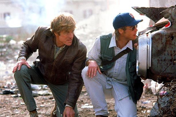 Brad Pitt, Robert Redford, ...   Scott teamed up Robert Redford and Brad Pitt, perhaps two of the biggest film stars ever, for a tangled, action-packed espionage thriller that spanned decades…