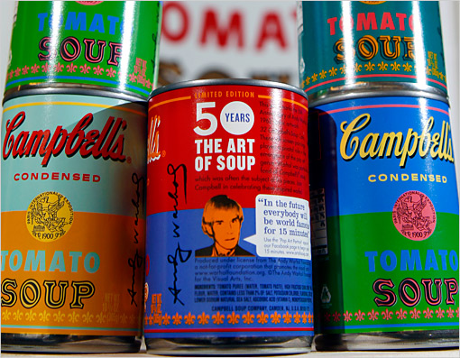 Warhol Cambell Soup