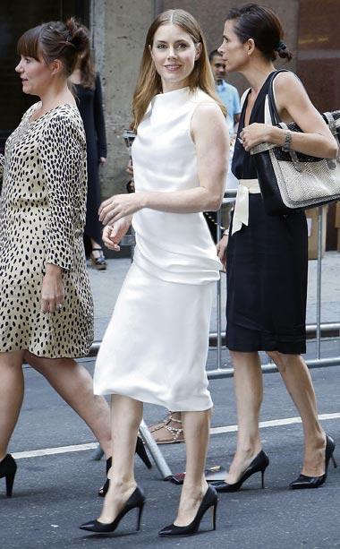 Amy Adams at Calvin Klein