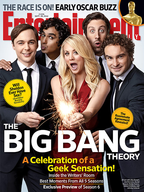 Jim Parsons, Kaley Cuoco, ... | For more Big Bang Theory exclusives, pick up EW on newsstands or subscribe now.