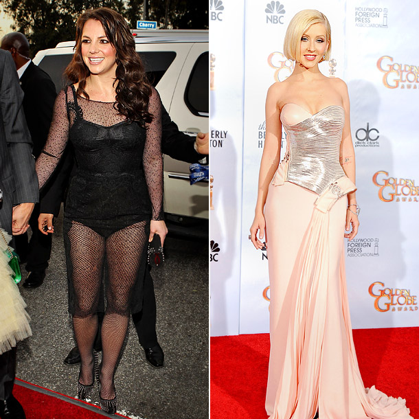 In 2010, Spears struggled to recapture red carpet glory at the Grammy Awards as Aguilera hit her style stride at the Golden Globes. Who looked…