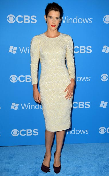Cobie Smulders at the CBS 2012 fall premiere party in West Hollywood