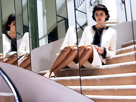 Coco Before Chanel | Designer: Karl Lagerfeld Who better to bring Gabrielle ''Coco'' Chanel to life than Lagerfeld, the luxury brand's current head designer and creative director? Though the…