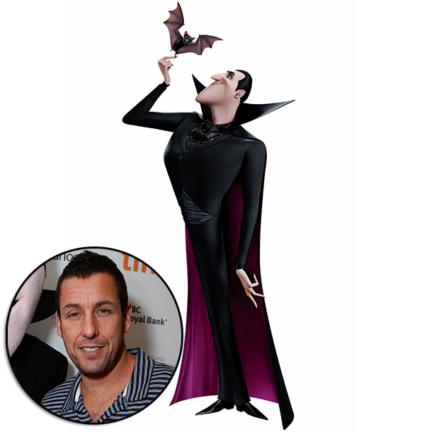 Hotel Transylvania | ''Our version of Dracula is a loving overprotective Dad, which was perfect for Adam being a father of two girls,'' says Genndy Tartakovsky, director of…